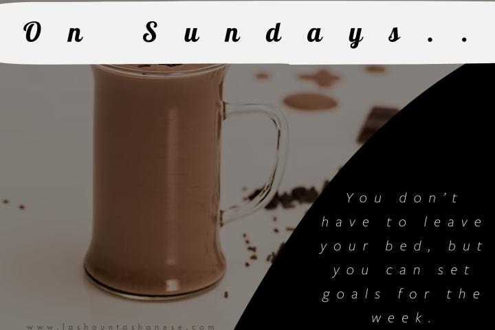 On Sundays…