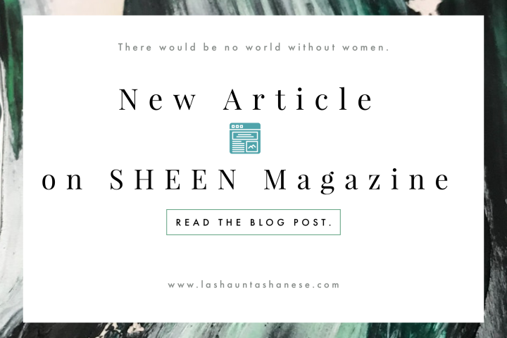 New Article on SHEEN Magazine