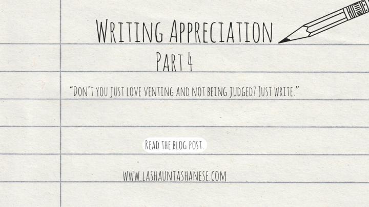 Writing Appreciation, PT4